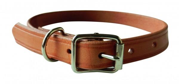 Halsung Flachleder oder Fettleder 45cm